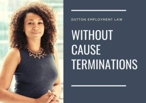 Termination without cause Ontario