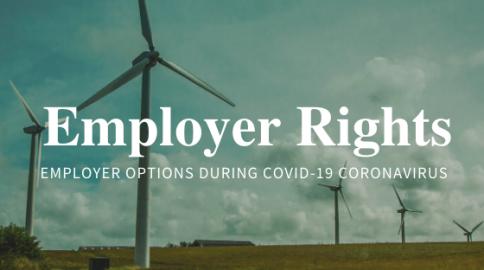 employer Options during covid-19 coronavirus