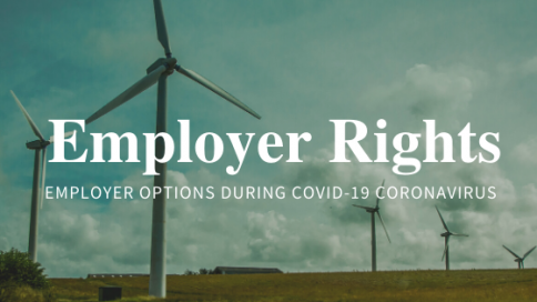 employer Options during covid-19 coronavirus