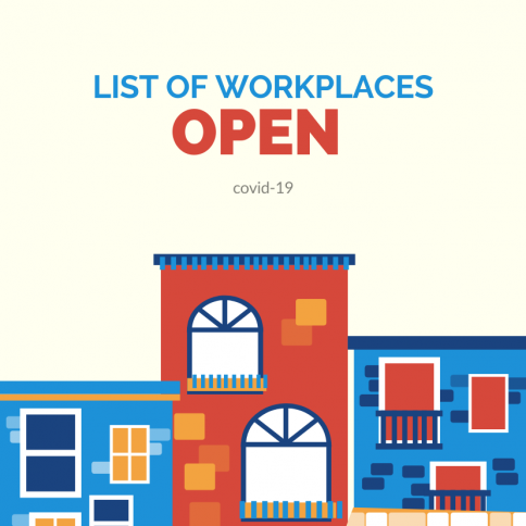 Read the list of workplaces that can open back up in Ontario response to better COVID-19 data