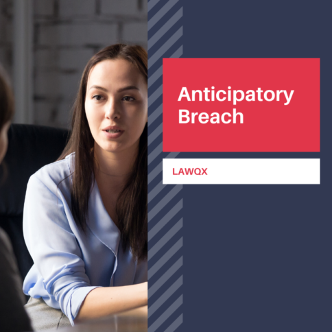 What is 'Anticipatory Breach'?