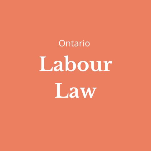 labour law ontario
