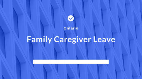 Family Caregiver Leave