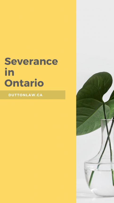Ontario Severance