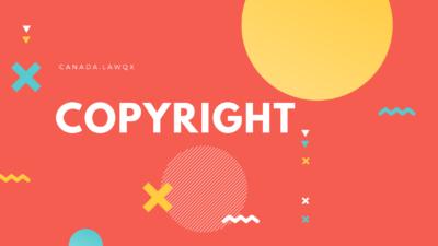 copyright in ontario