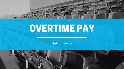 Overtime pay Ontario