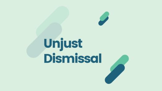 Unjust dismissal