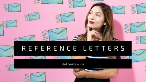 Reference Letter canada