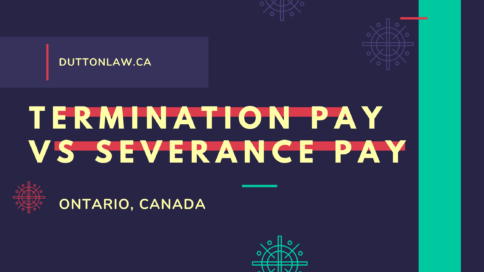 Termination Pay vs Severance Pay