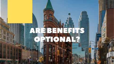 Do employers have to provide benefits (Ontario).